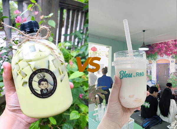 so sánh chai nhựa và ly nhựa