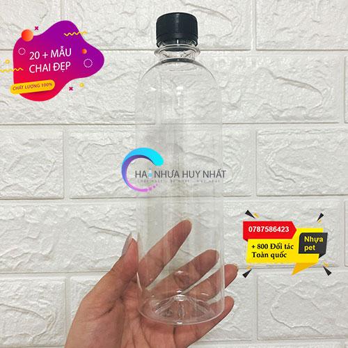 chai nhựa pet 1 lít