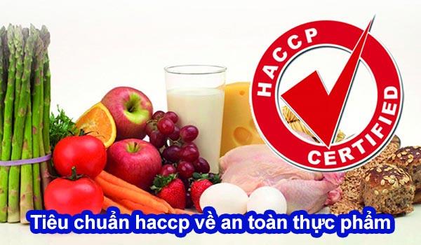 tiêu chuẩn haccp về an toàn thực phẩm