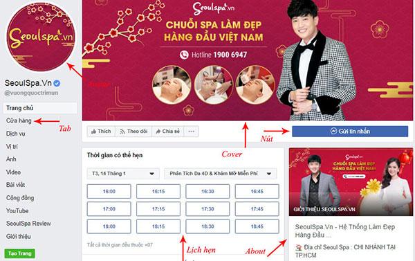 trang trí và quảng bá cửa hàng online