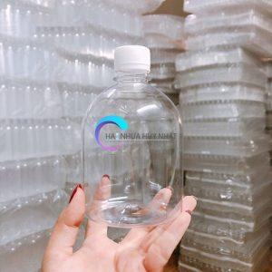 chai nhựa 500ml tròn lùn giá sỉ